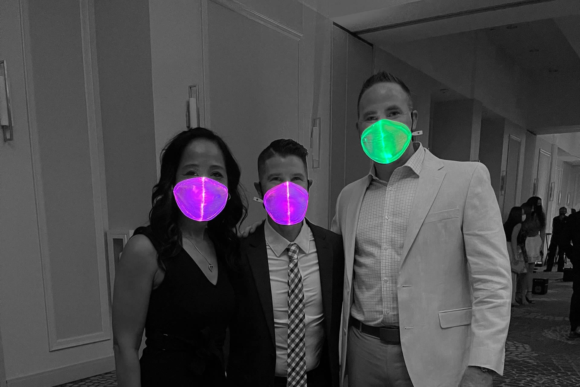 LED Masks - Silent Party USA